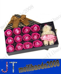 Wholesale promotion Winnie soap flower small commodity Valentine s Day gift birthday gift box roses MYY2147