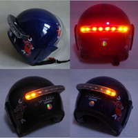 Wholesale Wireless Helmet Led Stop Brake Light W Turn Signal for Motorcycle