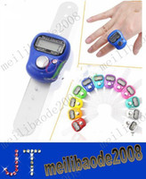 assorted temples - Mini Muslim Finger Ring Tally Counter Digital Tasbeeh Tasbih For Golf Temple Assorted Color MYY2148