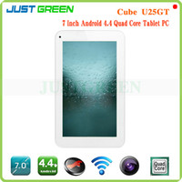 Wholesale 7 inch x600 Cube U25GT C4W Android Tablet PC MTK8127 Quad Core GHz GB RAM GB ROM HDMI OTG GPS