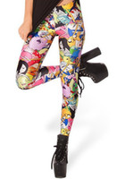 Wholesale Adventure Time Bro Ball Leggings fashion new women Digital print Galaxy Pants ZG57