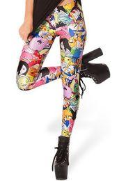 Wholesale Adventure Time Bro Ball Leggings fashion new women Digital print Galaxy Pants ZG57