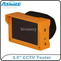 Wholesale Portable ABS Shell inch TFT Wristband Security CCTV Camera Test Tester