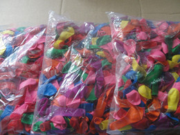 2017 Hot Sales holiday party Latex Free Color Water Balloons 16-18cm (inflated) 1 package   500pcs   lot