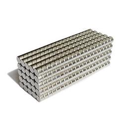 100pcs Neodymium Disc Mini 5 X 5mm Rare Earth N35 Forte puissance de modèles d'artisanat de puissance Livraison gratuite à partir de aimant néodyme forte fabricateur