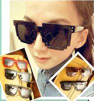 Wholesale 2014 vintage sunglasses Minecraft CPU Bit Pixel Wayferer Pixelated Geek Novlety Sunglasses Vintage Leopard Print oculos de sol
