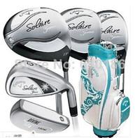 Wholesale 2014 hot sale original golf clubs solaire women complete set of club original golf club full set golf