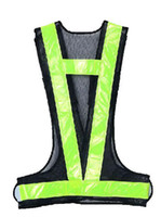 Wholesale navy V shape reflective vest made in China