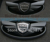 Wholesale Genesis Coupe Wing Badge Kit Wing Emblem Kit Mat Black Build Your Car