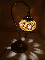 Wholesale Uniquely Briliant Turkish Istanbul Handicraft Mosaic Table Lamp SP05 made by Tokin