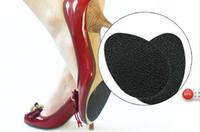 1000pcs = 500pairs Venta caliente auto-adhesivo 2 PC Anti-deslizamiento zapatos talón único protector almohadillas de goma almohadilla cojín