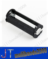 Wholesale Black Cylindrical type Plastic Battery Holder for AAA For Flashlight Torch MYY2152