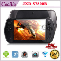 Wholesale 7 INCH Game Console tablet JXD S7800B S7800 RK3188 T Quad Core Android G RAM GB X800 IPS Android Online Game Dual Camera