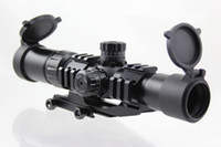 Spotting Scopes arrow locks - Aimsports Scope X30 Tri Illuminated Mil Dot Reticle or Arrow or Circle Scope with Locking Turrets