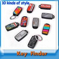 Wholesale 5 Pieces Key Finder Alarm Whistle Wireless Key LOST Locator Finder Receiver Electronic Key Finder Hot sale Ten kinds of style