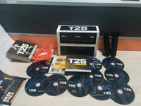 Cheap T25 Focus MIB Shaun T's Fitness Insanity 10 DVD With Resistant Band Home Body Exercise Bodybuilding Slimming