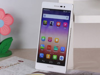 100% original <b>Huawei</b> Ascend P7 Quad Core 2G + 16G 4G FDD-LTE 5,0 pulgadas FHD1920 * Pantalla 1080P WiFi GPS 13.0MP cámara GPS Dual SIM Smartphone