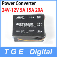 Wholesale 5A A Car Voltage Dropper DC DC Power Supply Regulator V DC to V DC Converter with Protection
