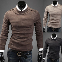 Wool Blend men knitted sweaters - Mens Fashion New Casual European Autumn Winter Sweater Men s Business Slim Fit O Neck knitting shirt Men Pullovers Sweater