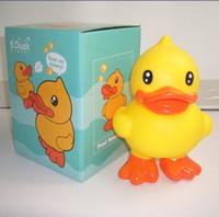 Wholesale G742 stand big yellow duck duck piggy piggy piggy bank creative cartoon