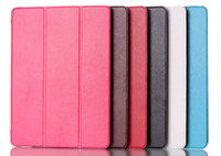 New arriival ultra slim 3 folding stand folio leather case c...