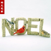 Wholesale Resin Christmas ornaments Christmas letter cards Christmas decorations Christmas decorations resin crafts