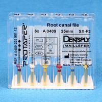 Cheap Teeth whitening Dental Dentsply Rotary Universal Protaper Root Canal Endo Niti Files SX-F3 25MM