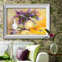 classical painting - Oil Painting Picture Home Decorative Wall Art Picture Flower Canvas Classical Paint On Canvas Prints No Frame