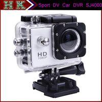 Wholesale HOT Waterproof Sport DV Camera SJ4000 HD Mini Camcorders P fps MegaPixels H Inch Outdoor Home Security Novatek Car DVR