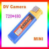 Wholesale FPS Mini DV Lighter Spy DVR Hidden Camera Camcorder with TF Crad Slot