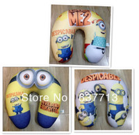 Wholesale OP Despicable Me Jorge Dave Stewart Children U Shaped Head Rest Micro Foam Beads Traveling Neck Pillow