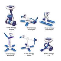 Wholesale SKU770 Generation III IN Educational DIY fancy originality solar assembling toys
