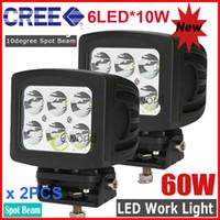 Cheap Spot Beam 60W CREE LED Work Light Best 30 Degree 10000lm cree led