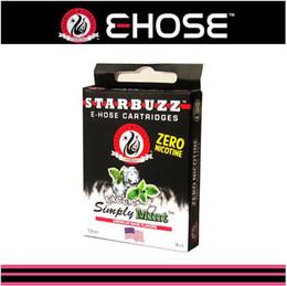 E cigarette various Flavors Starbuzz E Hose Hookah refill Cartridges for E Hookah Mod hot 4pcs pack 14 flavours
