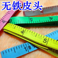 Wholesale Y2426 color daily soft foot tape measure tape measure home practical woman must both ends without iron