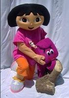 Mascot Costumes dora mascot - Dora mascot apparel character Dora dress