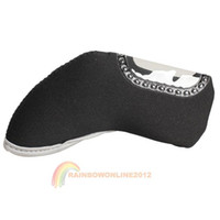 Wholesale R1B1 Black Golf Club Sport Iron Head Covers HeadCovers Ball Arm Cap Sleeve