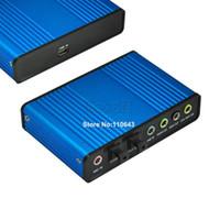 Wholesale Big Discount USB Channel External Audio Sound Card For Laptop Optical Controller Audio Sound Card