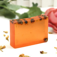 For Face Acne Treatment Crystal Fairy 100g Chamomile essential oil soap factory direct wholesale water bath Oil Control Cleansing Hand Soap 3a104