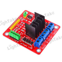 Drive IC Red L298N Hot sale lots 5Pcs L298N Stepper Motor Driver Controller Board