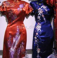 Wholesale Evening Dress Silk Cheongsam Prom Dresses Qipao gown dress Party dress The newest hot