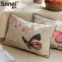 100% Polypropylene Cotton Column Snnei indoor living room sofa cushion Mediterranean Splendor series Cotton Fabric Pillow Pillow containing HD