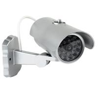 Wholesale Home Surveillance Security Dummy IR Simulation Fake Camera With Sensor Light LED Flashing New F2138D