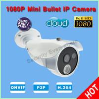 Infrared CMOS IPC-HB1014 Sony Full HD 1080P 2 Megapixel Bullet Waterproof Cloud Camera P2P IR Security Camera