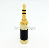 Adapter HiFi  Oyaide Straigt Gold 3.5mm 3 poles Male stereo phono Carbon Shell DIY Solder Adapter