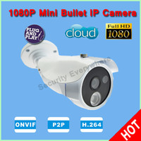 Infrared CMOS IPC-HB1014 Sony Full HD 1080P 2 Megapixel Bullet Waterproof Cloud Camera P2P IR Security Camera