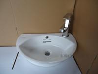 Wholesale Art basin ceramic basin small hang lavatory washbasins hanging small space most of the basin that wash a face