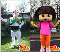 Wholesale special Customized Buzz Lightyear and Dora mascot costume