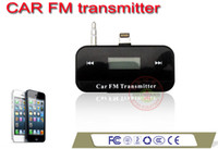 Wholesale Apple iphone5 s c FM Car FM Transmitter hands free charging for accessories