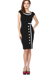 Wholesale Fashion Women Lady Girls Vintage Dress Cocktail dress for Office Work ladies Clothing evening gown